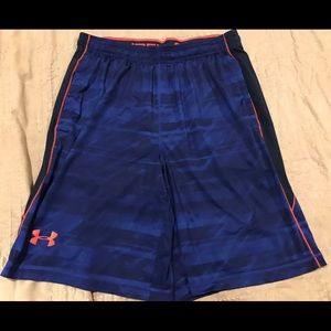 Under Armour athletic shorts, Adult Large